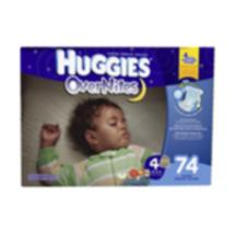 Huggies Super Pack OverNites DiapersSize 4