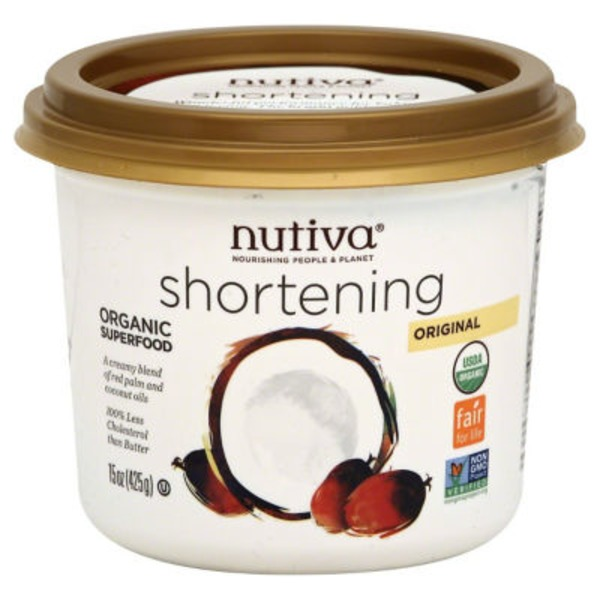 Nutiva Organic Red Palm & Coconut Shortening