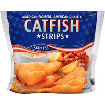 Skinless Catfish Strips