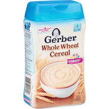 Gerber Whole Wheat Baby Cereal