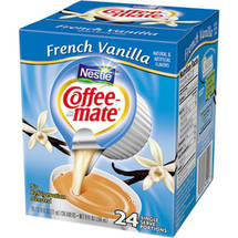Nestle Coffee-Mate French Vanilla Coffee Creamers