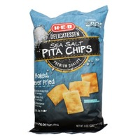 H-E-B Sea Salt Baked Pita Chips