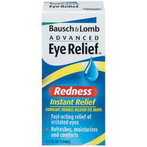 Bausch & Lomb Advanced Eye Relief Instant Relief Lubricant/Redness Reliever Eye Drops