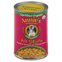 Annie's Homegrown All Stars Pasta In Tomato & Cheese Sauce Organic Canned Meals