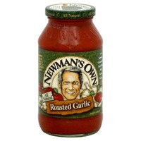 Newman's Own All Natural Roasted Garlic Pasta Sauce