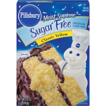 Pillsbury Moist Supreme Classic Yellow Sugar Free Premium Cake Mix