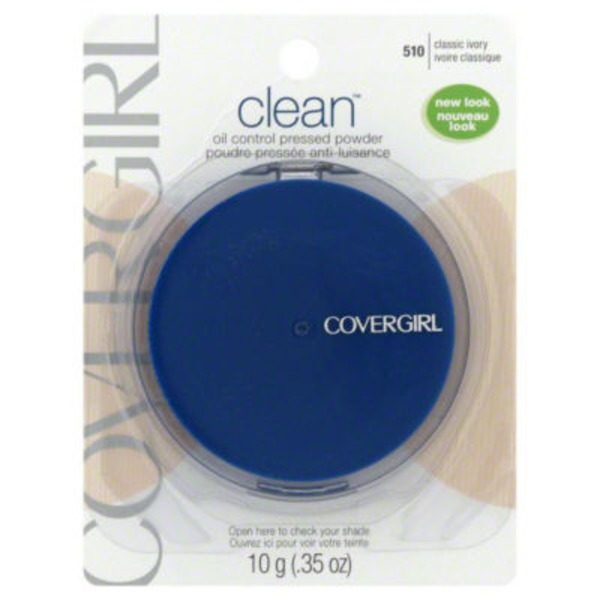 CoverGirl Clean Matte COVERGIRL Clean Matte Pressed Powder Classic Ivory .35 oz. Female Cosmetics