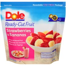 Dole Ready-Cut Fruit Strawberries & Bananas Frozen Fruit