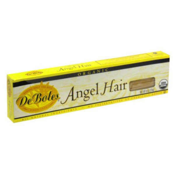 DeBoles Organic Angel Hair Pasta