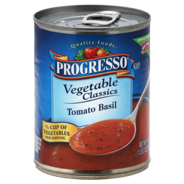 Progresso Vegetable Classics Tomato Basil Soup