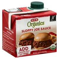 H-E-B Organics Sloppy Joe Sauce