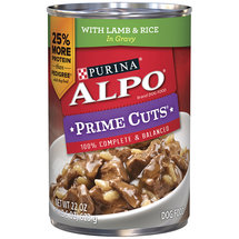 Alpo Prime Cuts In Gravy With Lamb&Rice Dog Food