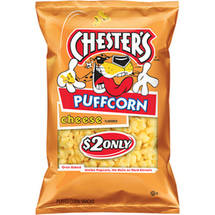 Chester's Puffcorn Cheese Puffed Corn Snacks
