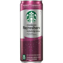 Starbucks Refreshers Raspberry Pomegranate Drink