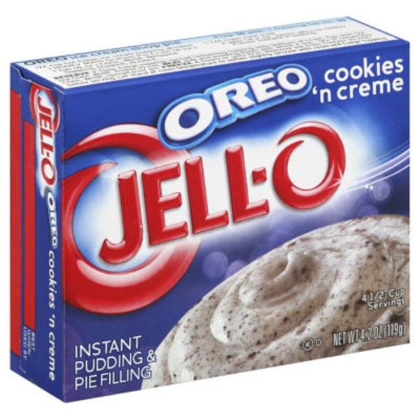 Oreo Instant Cookies 'n Cream Pudding & Pie Filling Mix