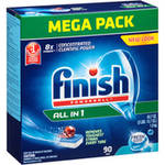 Finish Powerball All in 1 Fresh Scent Automatic Dishwasher Detergent Tabs