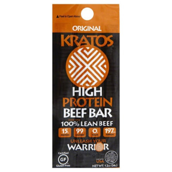 Kratos Original High Protein Beef Bar