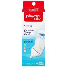 Playtex VentAire Advanced 9-oz Wide Baby Bottles BPA-Free