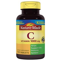 Nature Made Vitamin C Dietary Supplement Tablets