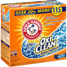 Arm & Hammer Plus OxiClean Stain Fighters Fresh Scent Powder Laundry Detergent