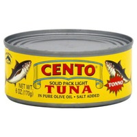 Cento Solid Pack Light Tuna In Olive Oil