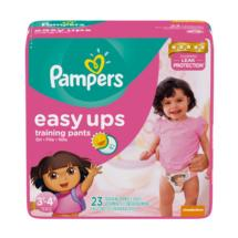 Easy Ups Trainers for Girls Size 3T-4T