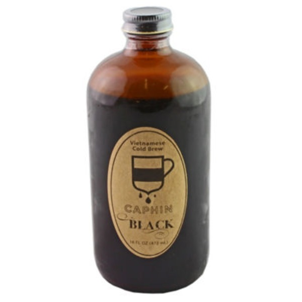 Caphin Black Cold Brewed Vietnamese Iced Coffee