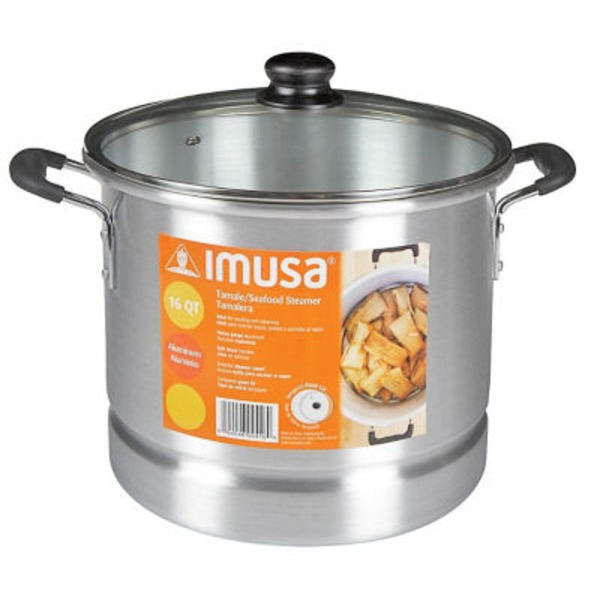 Imusa Tamale Steamer With Glass Lid