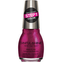 SinfulColors SinfulShine Step 1 Color Nail Color Haute Shine