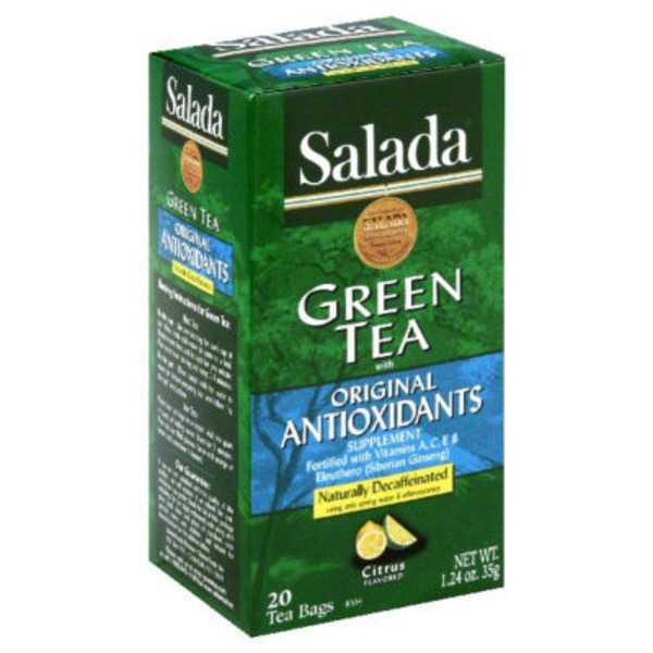 Salada Decaffeinated Citrus Medley Green Tea
