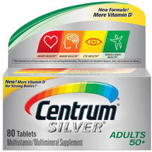 Centrum Silver Adult Multivitamin/Multimineral Supplement