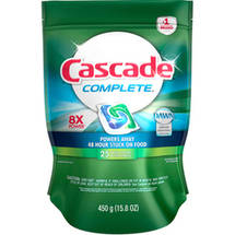 Cascade Complete Fresh Scent Dishwasher Detergent Action Pacs
