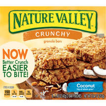 Nature Valley Crunchy Coconut Granola Bars