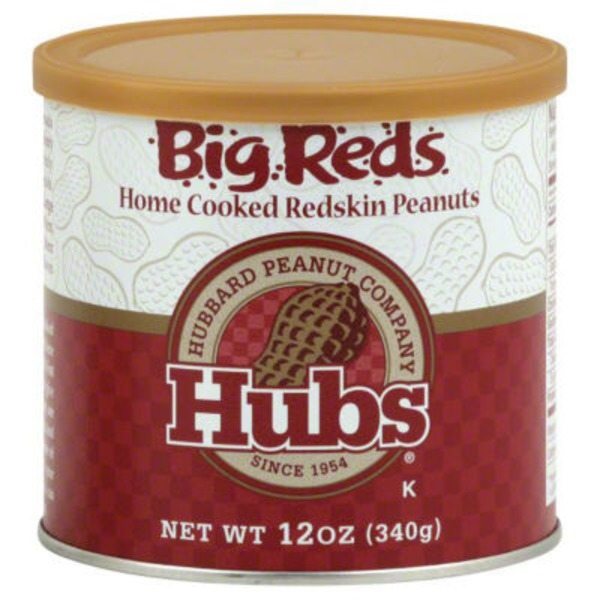 Hubs Big Reds Home Cooked Redskin Peanuts