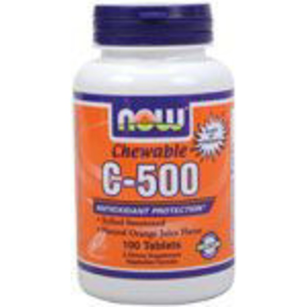 Now Chewable C-500 Orange Flavor