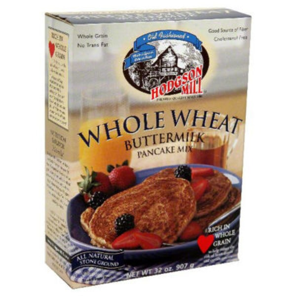 Hodgson Mill Buttermilk Whole Wheat Pancake Mix