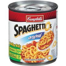 Campbell's Original Spaghettios In Tomato & Cheese Sauce