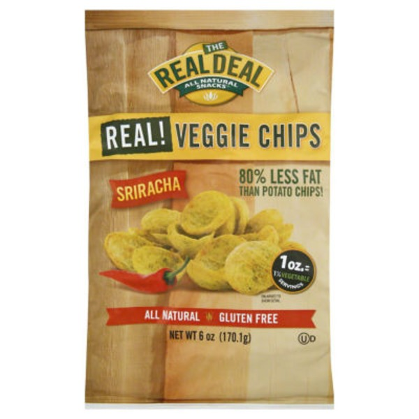 The Real Dill Snacks Veggie Chips Sriracha