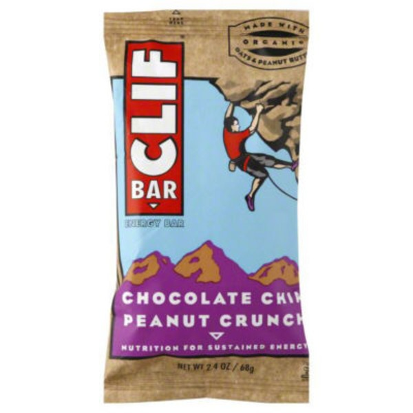 Clif Bar® Chocolate Chip Peanut Crunch Energy Bar