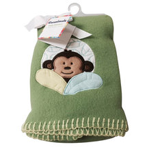 Garanimals Monkey Fleece Blanket each