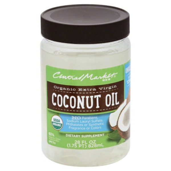 Central Market Organic Extra Virgin Coconut Oil