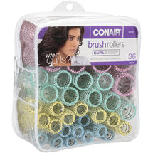 Conair Curl & Body Brush Rollers 61146