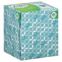 Puffs Plus Vicks Puffs Plus Lotion with Vicks Facial Tissues, 1 Cube, 48 Tissues per Cube Personal Tissue