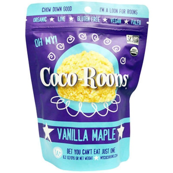 Coco Roons Vanilla Maple
