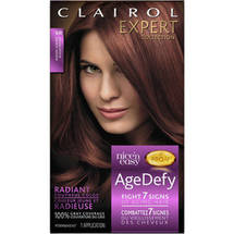 Clairol Expert Collection Age Defy Hair Color 5R Medium Auburn