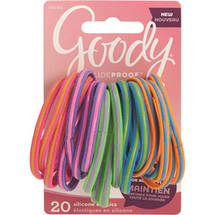 Goody Slideproof Girls Silicone Elastics