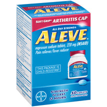 Aleve All Day Strong Pain Reliever/Fever Reducer Caplets