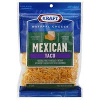 Shredded Mexican Style Taco Cheese