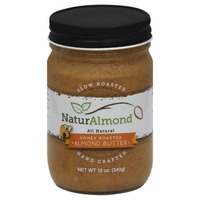 Naturalmond Almond Butter, Honey Roasted, Jar
