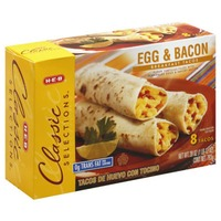 H-E-B Bacon And Egg Breakfast Tacos